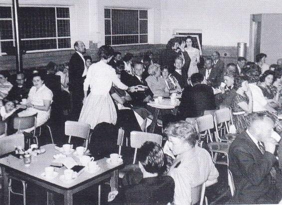feestavond jeugdkoor 1962
