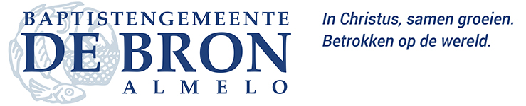 logo De Bron en tekst
